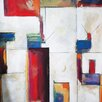 Portfolio Canvas Decor 'Colorblock 2' by Sokol-Hohne Framed Painting Print on Wrapped Canvas