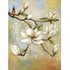 Portfolio Canvas Decor 'Spring Whisper I' by Sandy Doonan Framed Painting Print on Wrapped Canvas