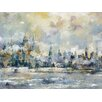 Portfolio Canvas Decor 'City Rising' by Carney Framed Painting Print on Wrapped Canvas