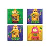 Portfolio Canvas Decor Robokix 1 by Sandy Doonan 4 Piece Painting Print on Wrapped Canvas Set