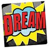 Portfolio Canvas Decor Pop Dream 1 by IHD Studio Graphic Art on Wrapped Canvas