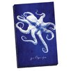 Portfolio Canvas Decor Octopus by GI ArtLab Graphic Art on Wrapped Canvas