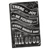 Portfolio Canvas Decor It's All Good by IHD Studio Chalkboard Textual Art on Wrapped Canvas