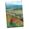 Portfolio Canvas Decor View of Provence by Dean Bradshaw Painting Print on Wrapped Canvas