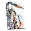 Portfolio Canvas Decor Great Blue II by Sean Parnell Painting Print on Wrapped Canvas