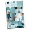 Portfolio Canvas Decor At Dusk by Liz and Kate Pope Painting Print on Wrapped Canvas