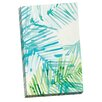 Portfolio Canvas Decor Layered Palm C by Hable Construction Painting Print on Wrapped Canvas