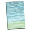 Portfolio Canvas Decor Oceanic A by Hable Construction Painting Print on Wrapped Canvas