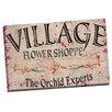 Portfolio Canvas Decor Vintage Signs Flower Shoppe 7 by IHD Studio Textual Art on Wrapped Canvas