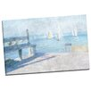 Portfolio Canvas Decor Dockside View by Noah Bay Painting Print on Wrapped Canvas