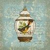 Portfolio Canvas Decor Aviary 2 by Suzanne Nicoll Graphic Art on Wrapped Canvas