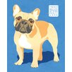 Portfolio Canvas Decor Show Dogs French Bulldog by Jenny Wiscombe 2 Piece Painting Print on Wrapped Canvas Set
