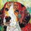 Portfolio Canvas Decor Dog Beagle by Sandy Doonan Graphic Art on Wrapped Canvas