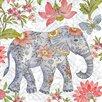 Portfolio Canvas Decor Asian Elephant 1 by Elena Vladykina Graphic Art on Wrapped Canvas