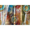Portfolio Canvas Decor Zoetrophe I by Linza Painting Print on Wrapped Canvas