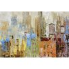 Portfolio Canvas Decor Water Tower II by Longo Painting Print on Wrapped Canvas