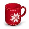 Friesland Becher Happymix Weihnachten Rot