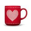 Friesland Happymix Weihnachten Rot Mug