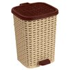 Superior Performance 3.1-Gal. Rattan Compact Trash Bin