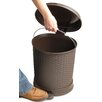 Superior Performance 5.5-Gal Pedal Trash Can