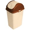 Superior Performance Superio Brand 9.2-Gal Slim Trash Can