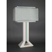 "Bungalow Belt Mod Times 30"" H Table Lamp with Rectangular Shade"