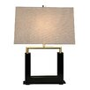 "Bungalow Belt Urbane 21.5"" H Table Lamp with Rectangular Shade"