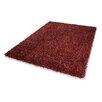 Dekowe Handgewebter Teppich Trendy Corado in Bordeaux