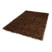Dekowe Handgewebter Teppich Trendy Corado in Braun