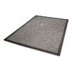 Dekowe Naturino Color Rug with Border in Charcoal
