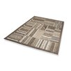 Dekowe Naturino Patchwork Family Outdoor Rug in Grey