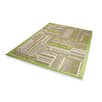 Dekowe Naturino Patchwork A2 Outdoor Rug in Green