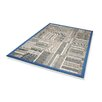 Dekowe Naturino Patchwork A2 Outdoor Rug in Blue