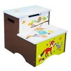 Fantasy Fields Enchanted Woodland 2-Step Manufactured Wood Step Stool with 75 lb. Load Capacity