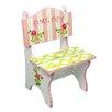Fantasy Fields Crackled Rose Kids Desk Chair