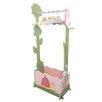 Fantasy Fields Magic Garden Dress-Up Valet Rack with Set of 4 Hangers