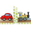 Fantasy Fields Transportation Book End (Set of 2)