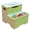 Fantasy Fields Transportation 2-Step MDF Step Stool with 200 lb. Load Capacity
