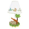 "Fantasy Fields Alphabet 19.5"" H Table Lamp with Empire Shade"