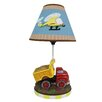 """Fantasy Fields Transportation 16.3"""" H Table Lamp with Empire Shade"""