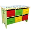 Fantasy Fields Sunny Safari Storage 6 Compartment Cubby Base Set