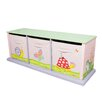 Fantasy Fields Magic Garden 3 Compartment Cubby