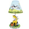 "Fantasy Fields Sunny Safari 15.5"" H Table Lamp with Empire Shade"