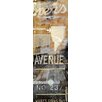 TAF DECOR NY Ave Part 3 Graphic Art Plaque