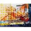 TAF DECOR NY Urban 12 Art-for-You Graphic Art on Wrapped Canvas