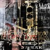 TAF DECOR Pop City 8 Graphic Art Plaque