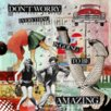 TAF DECOR Don't Worry, Everything's Going to be Amazing Giclee Graphic Art on Canvas