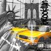 TAF DECOR Brooklyn Moves 1 Graphic Art on Canvas