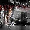 TAF DECOR NYC Never Sleeps Graphic Art on Canvas