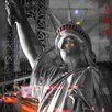 TAF DECOR Lady Liberty in Black and White Graphic Art on Canvas